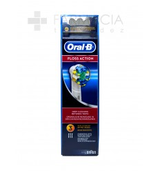 ORAL-B RECAMBIO FLOSS ACTION 3U