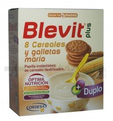 BLEVIT PLUS 8 CERE. GALLETAS MARIA 600GR