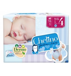PAÑAL CHELINO FASHION & LOVE T- 4 (9 -15KG)