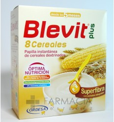 BLEVIT PLUS 8 CEREALES SUPERFIBRA 600GR