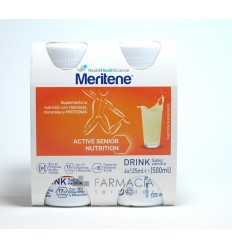 MERITENE DRINK 125 ML 4 BOTELLAS VAINILLA