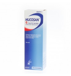 MUCOSAN 30 MG JARABE 250 ML