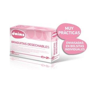 BRAGUITAS DESECHABLES PAPEL DNINS 4 UD