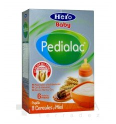 HERO BABY PEDIALAC 8 CEREAL/MIEL 500 GR