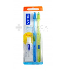 CEPILLO DENTAL ADULTO VITIS ACCESS MEDIO BLISTER