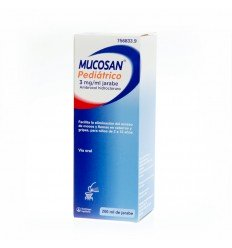 MUCOSAN PED 15 MG. JARABE 200 ML.