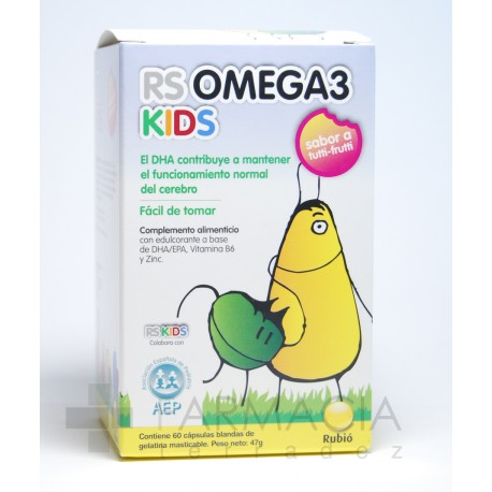 RS OMEGA 3 KIDS 60 CAPSULAS BLANDAS