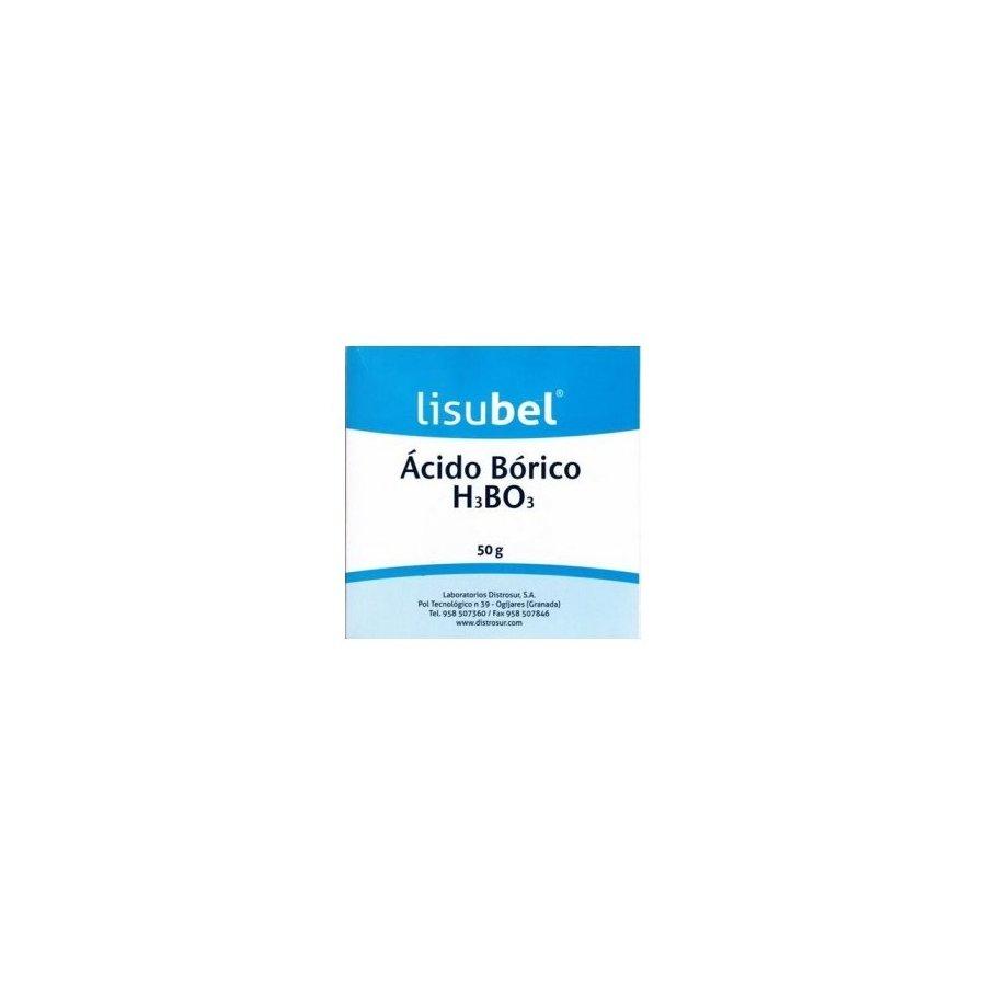 Acido Bolsa Lisubel Distrosur Borico 50 Gr 3cFKlT1J