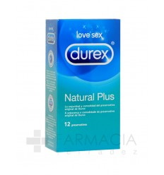 DUREX NATURAL PLUS 12U