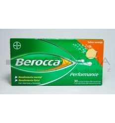 BEROCCA PERFORMANCE NARANJA 30 COMP EFERVESCENTE