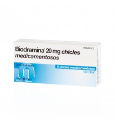 BIODRAMINA 6 CHICLES