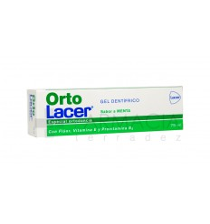 ORTOLACER GEL DENTIFRICO MENTA 75 ML.