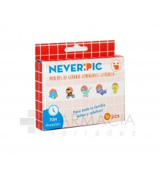 NEVERPIC PARCHES ANTIMOSQUITOS 16 UDS