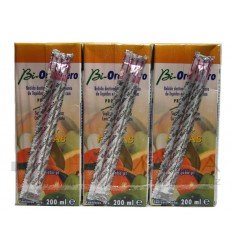 BIORALSUERO FRUTAS PACK 3 BRICK X 200ML.