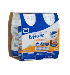 ENSURE NUTRIVIGOR BOTELLA 4 BOTELLA 220 ML CHOCO