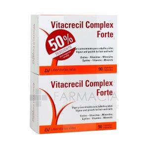 VITACRECIL COMPLEX FORTE 90 CAPSULAS DUPLO
