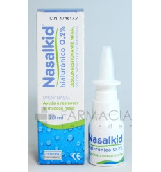 NASALKID HIALURONICO 0.2 SPRAY NASAL 20 ML