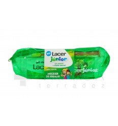 KIT LACER JUNIOR GEL MENTA  CEPILLO NECESER