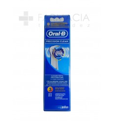 ORAL B RECAMBIO PRECISION CLEAN 3UDS
