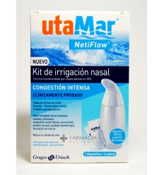 UTAMAR IRRIGACION NASAL KIT DISPOSITIVO  6 SOBR