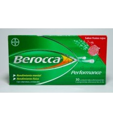 BEROCCA PERFORMANCE FRUTOS ROJOS 30 COMP EFERVES