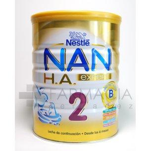 NESTLE NAN HA 2 LECHE CONTINUACION 900G.