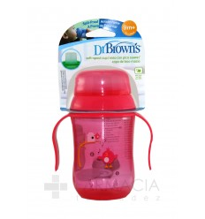 TAZA EDUCATIVA DR BROWN´S NATURAL FLOW + 12 M 27