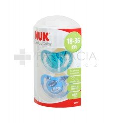 CHUPETE LATEX NUK GENIUS COLOR T-3 2 CHUPETES
