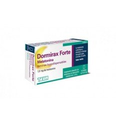 DORMIRAX FORTE MELATONINA 30 LAMINA DISPERSABLE