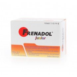 FRENADOL JUNIOR 10 SOBRES SABOR NARANJA