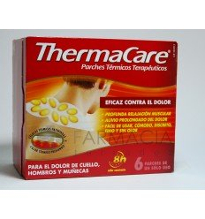 THERMACARE CUELLO/HOMBRO 6 PARCHES TERM.