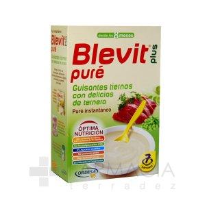 BLEVIT PLUS PURE GUISANTES/TERNERA 280GR