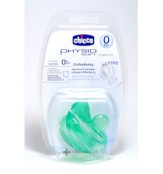 CHICCO CHUPETE SILICONA PHYSIOSOFT 0M COLOR