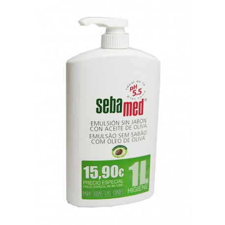 SEBAMED EMULSION C/ACEITE OLIVA 1000 ML