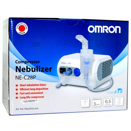 NEBULIZADOR COMPRESOR OMRON C 28 COMP AIR