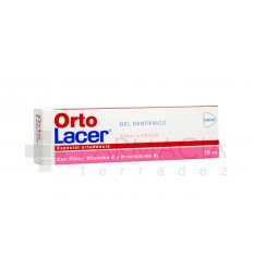ORTOLACER GEL DENTIFRICO FRESA 75 ML.