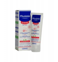 MUSTELA CREMA FACIAL  PIEL SENSIBLE 40 ML.