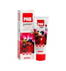 PHB JUNIOR PASTA DENTAL FRESA 75 ML LADYBUG