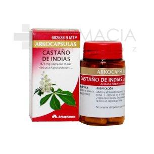 CASTAÑO DE INDIAS ARKOCAPSULAS 275 MG 48 CAPSULA