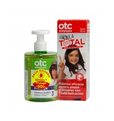 PACK OTC ANTIPIOJOS SPRAY  CHAMPU PROTECT