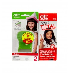PACK OTC ANTIPIOJOS SPRAY + LIENDRERA