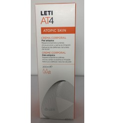 LETI AT-4 CREMA CORPORAL 200 ML.