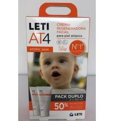 LETI AT4 DUPLO CREMA FACIAL 2 X 50 ML