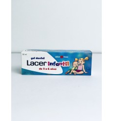 LACER GEL DENTAL INFANTIL FRESA 50 ML.