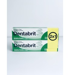 DENTABRIT PASTA DENTAL FLUOR 125ML. 2X1