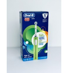 ORAL B CEPILLO ELEC JUNIOR VERDE