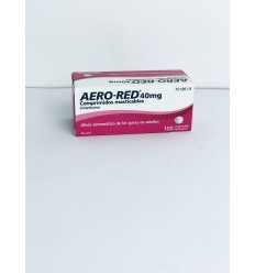AERO RED 40 MG 100 COMPR MASTIC