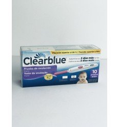 CLEARBLUE TEST OVULACION DIGITAL 10 UDS.
