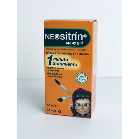 NEOSITRIN 100 GEL ANTIPARASITARIO 60 ML