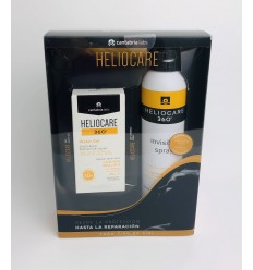 HELIOCARE 360º PACK WATER GEL  INVISIBLE SPRAY